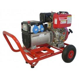 Generatori su carrello-monofase